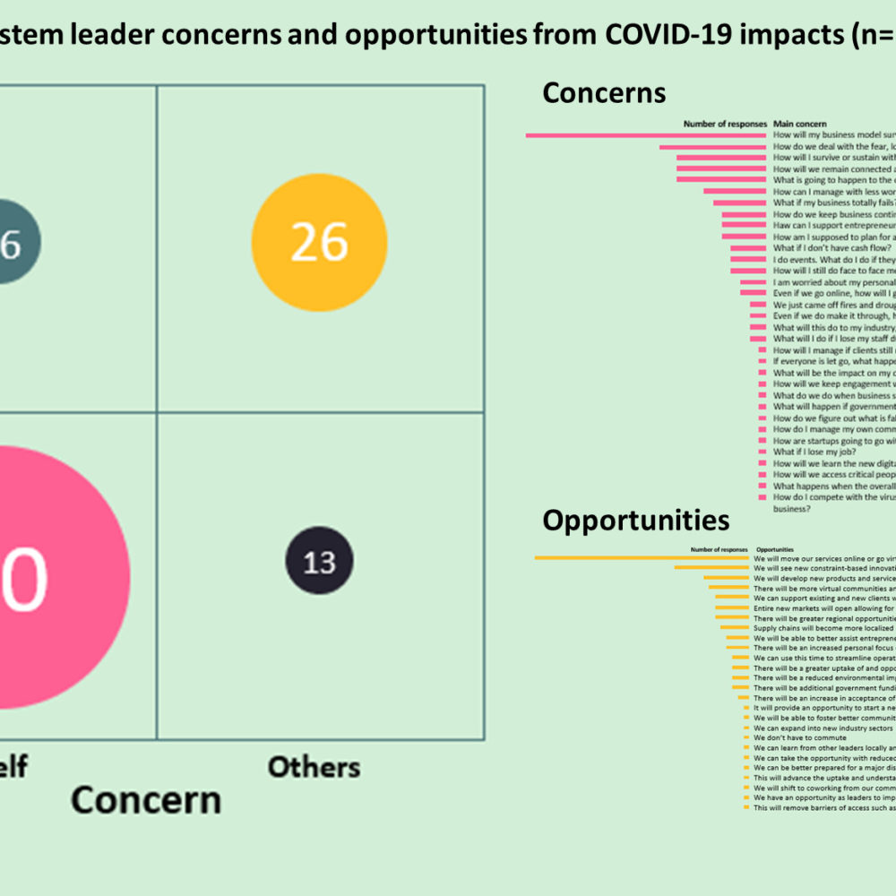 Challenges and opportunities for Australian entrepreneur ecosystem leaders – what you said about COVID-19 impacts
